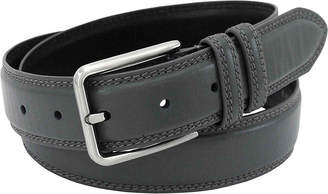 Stacy Adams Leather Belt with Double Keeper