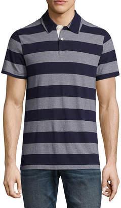 Arizona Short Sleeve Stripe Jersey Polo Shirt