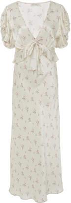 LoveShackFancy Lillian Column Dress
