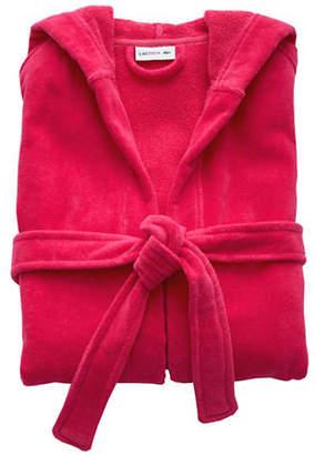 Lacoste Fairplay Velour Robe