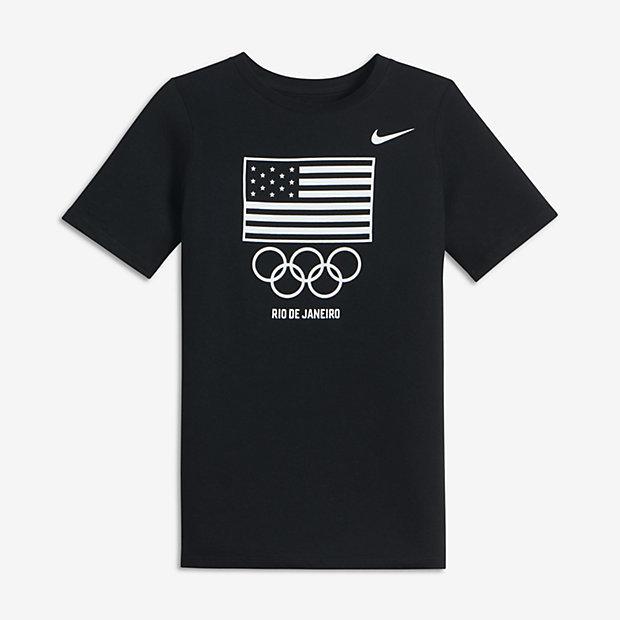 Nike Flag Rings (USOC) Big Kids' (Boys') T-Shirt
