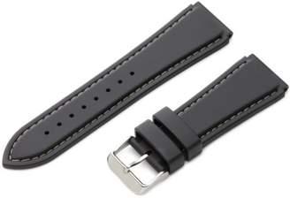Hadley-Roma 24mm 'Men's' Rubber Watch Strap