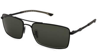 Asstd National Brand Aviator Polarized Sunglasses-Unisex