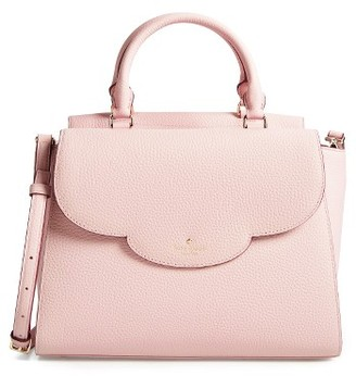 Kate Spade New York Leewood Place Makayla Leather Satchel - None $398 thestylecure.com