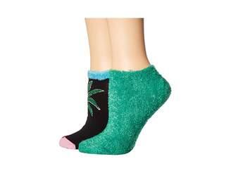 Hue Footsie Ankle Socks Gift Box Set 2-Pair Pack