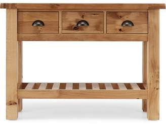 Willis & Gambier Oak 'Normandy' Console Table