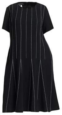 Lafayette 148 New York Lafayette 148 New York, Plus Size Malita Drop Waist Striped Dress