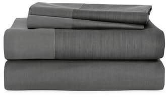 Striated Band 400 Thread Count Flat Sheet