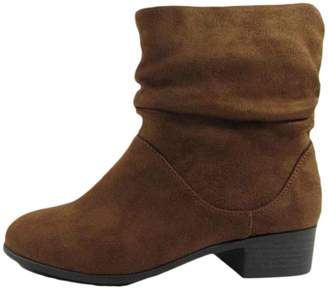 Soda Sunglasses Women's Energy Slouchy Round Toe Sueded Boot