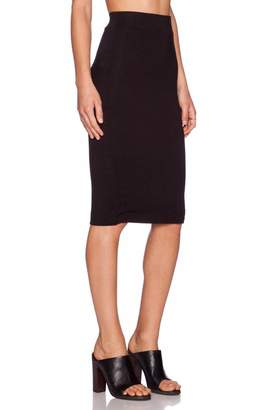 Blq Basiq Black Pencil Skirt