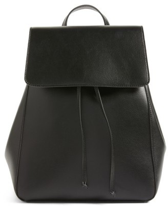 Sole Society Ivan Faux Leather Backpack - Black $64.95 thestylecure.com