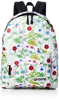 Outdoor Products (アウトドア プロダクツ) - [アウトドアプロダクツ] OUTDOOR × The Kewpies デイパック(M) KP401WH KP401WH ホワイト