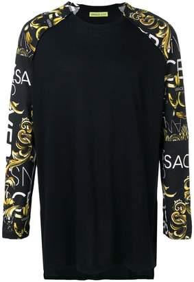 Versace printed top