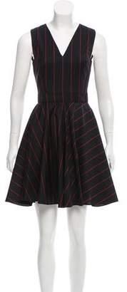 Versus Pinstripe Mini Dress