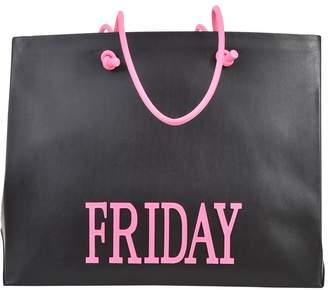 Alberta Ferretti Friday Black Shopping Bag