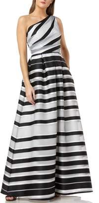 dfde9c10581c2 Carmen Marc Valvo One Shoulder Dresses - ShopStyle
