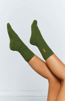 Eclat Tropicana Socks Avocado