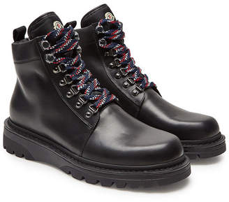 Moncler Isaac Leather Ankle Boots