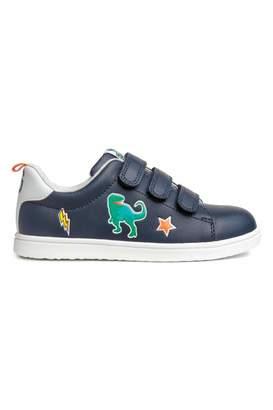 H&M Sneakers - Dark blue/dinosaur - Kids