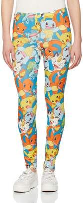 Pokemon Legging Fighting Pikachu All Over Print new Official Women