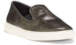 Vince Camuto Becker Metallic Textile Slip-On Sneakers