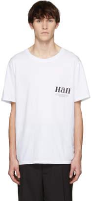 Han Kjobenhavn White Boxy T-Shirt