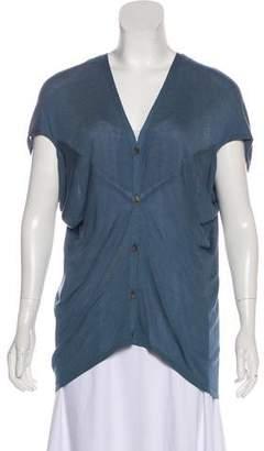 Maison Margiela Batwing Short Sleeve Sweater