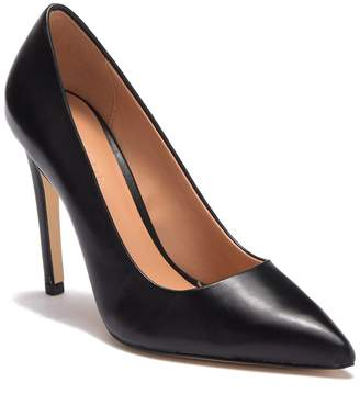 Halston Teri Leather Stiletto Pump