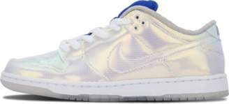 Nike Dunk Lo Pro SB 'Concepts Holy Grail' - Metallic Silver Blue/Red