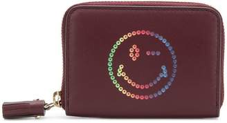 Anya Hindmarch small rainbow Wink zip-around wallet