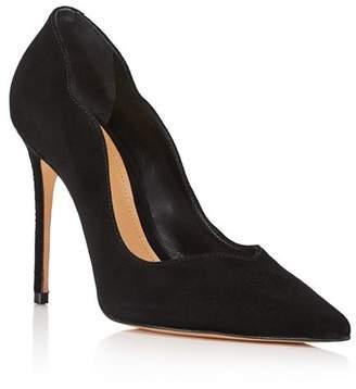 Schutz Women's Monaliza Pointed Toe Suede High-Heel Pumps