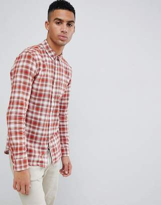 Farah Mcintyre check shirt in red