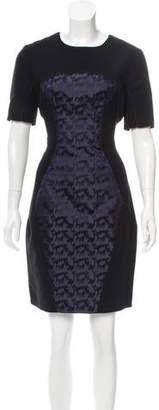 Matthew Williamson Short Sleeve Midi Dress