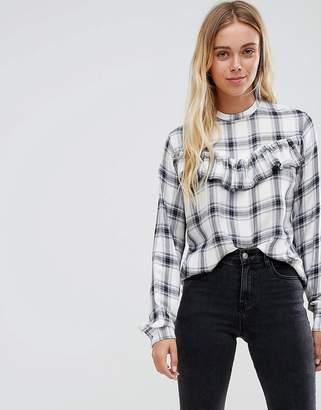 Glamorous check blouse