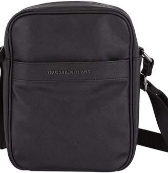 Trussardi New York Saffiano Ecoleather Shoulder Bag
