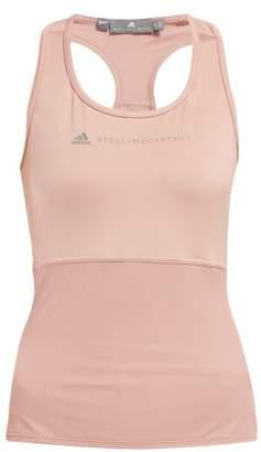 adidas by Stella McCartney Essentials Logo Tank Top - Womens - Pink