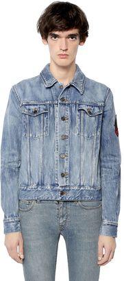 Patch Vintage Cotton Denim Jacket $1,250 thestylecure.com