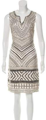 DAY Birger et Mikkelsen Embellished Knee-Length Dress Champagne Embellished Knee-Length Dress
