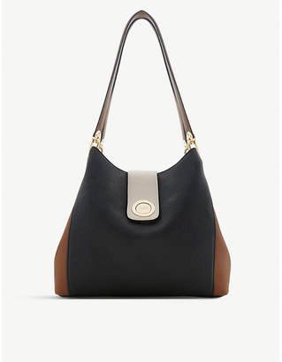 Dune Deannee faux-leather hobo bag