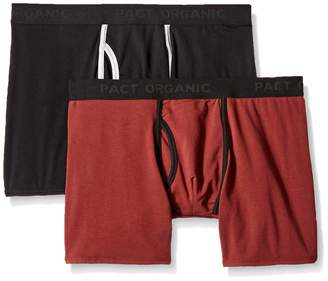 Pact Men's 2-Pack Organic Cotton Boxer Brief
