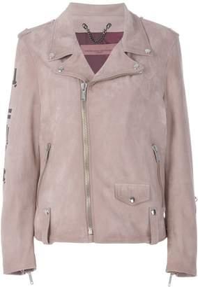 Golden Goose off-center zip fastening jacket