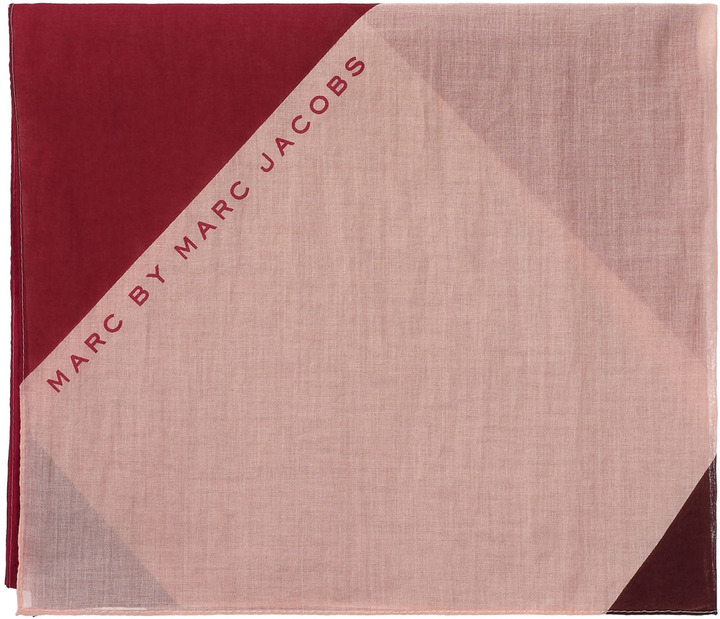 Marc by Marc Jacobs Deco Printed Scarf