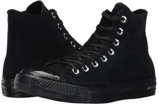 Converse Chuck Taylor All Star - Mono Plush Suede Hi Women's Lace up casual Shoes