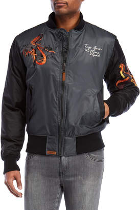 Top Gun Flying Legend Bomber Jacket