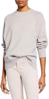 Club Monaco Alyce High-Low Oversized Wool-Blend Sweater