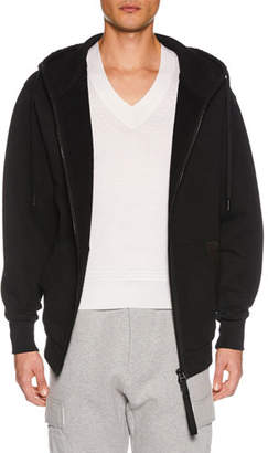 Tom Ford Men's Zip-Front Hoodie Sweatshirt, Black