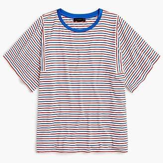 J.Crew Mixed stripe T-shirt