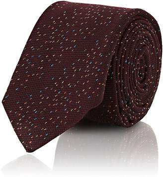 Barneys New York Men's Donegal-Effect Silk-Blend Necktie