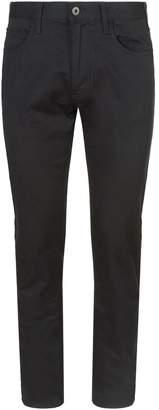 Emporio Armani Stretch Cotton Trousers