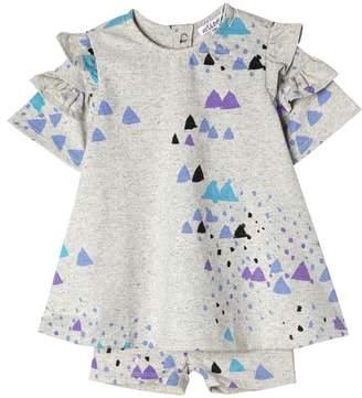 art & eden Brielle Confetti Ruffle Dress & Shorts Set